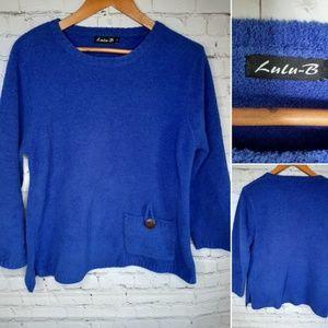 Lulu B comfy sweater size M
